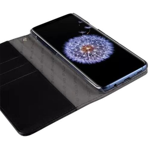 Melkco Plånboksfodral till Samsung Galaxy S9 - Svart