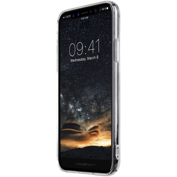 Melkco Polyultima Mobilskal iPhone XS / X - Transparent