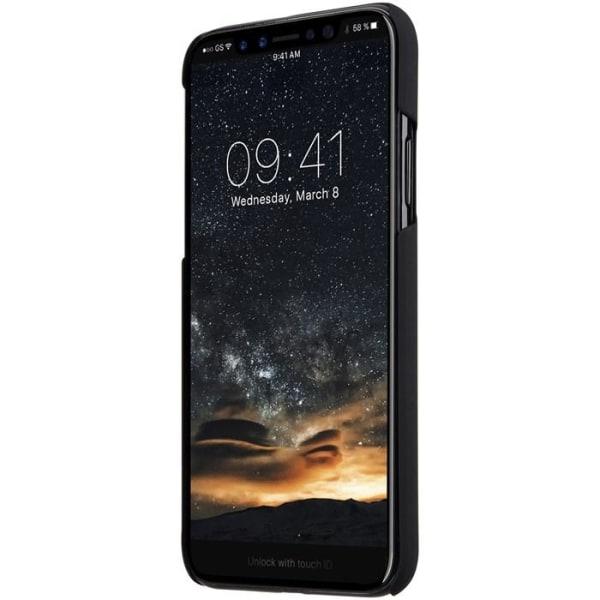 Melkco Rubberized Cover iPhone XS / X - Svart