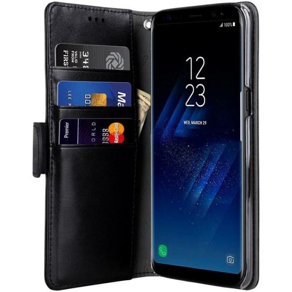 Melkco Walletcase Samsung Galaxy S8 Plus - Black