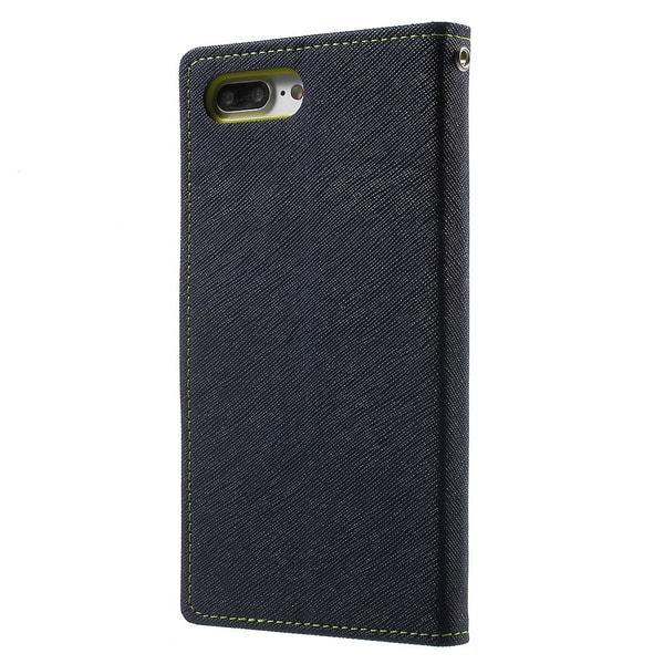 Mercury Fancy Diary Plånboksfodral till Apple iPhone 7 Plus - Bl