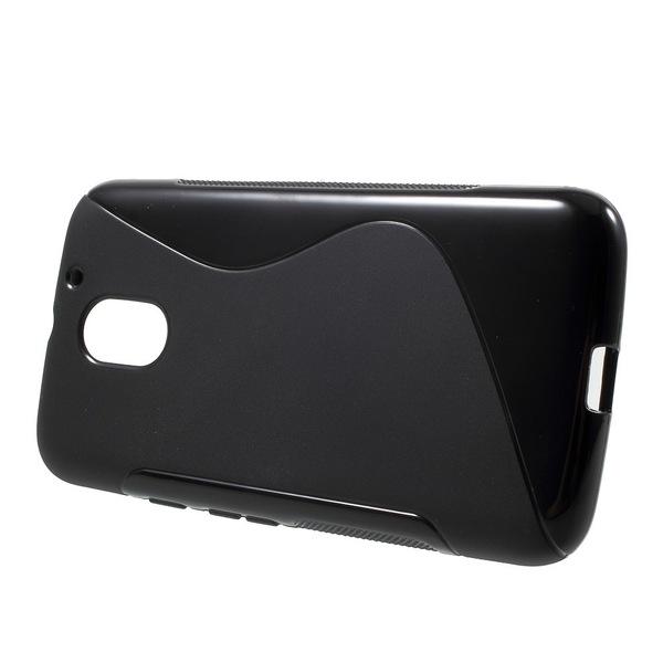 Mobilskal till Motorola Moto E3 - Svart