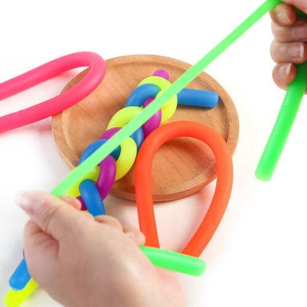Monkey Noodles Sensory Fidget Toy - Blandade färger 4 st