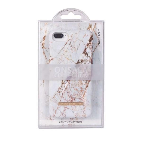 Onsala Collection mobilskal till iPhone 6/7/8/SE 2020 - White Rh