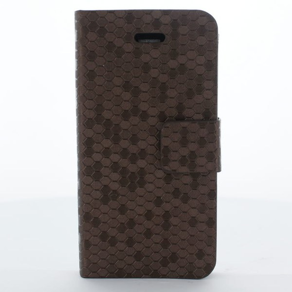 Pixel mobilfodral till Apple iPhone 4S   /   4 (Brun)