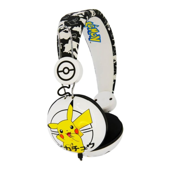 POKEMON Hörlur Dome Tween On-Ear 90dB Japansk Pikachu