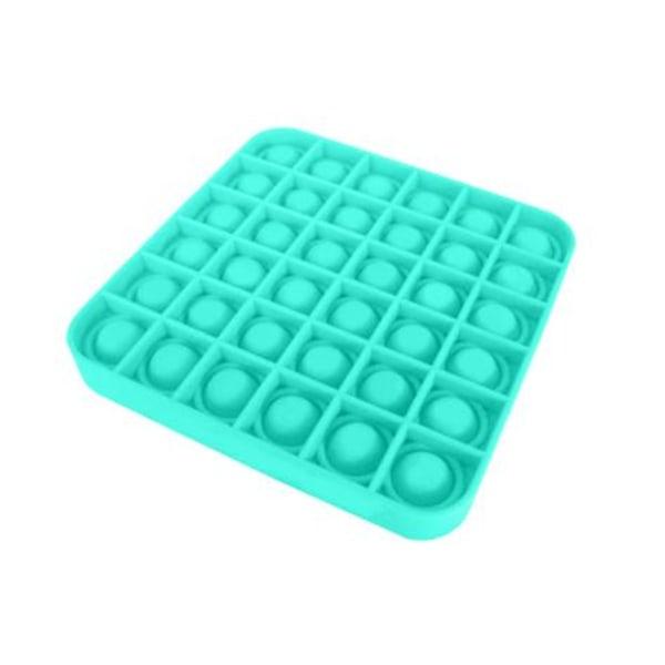 Pop it Fidget Sensory Leksak - Fyrkant - Grön (1 Pack) Fyrkant Grön (1 Pack)
