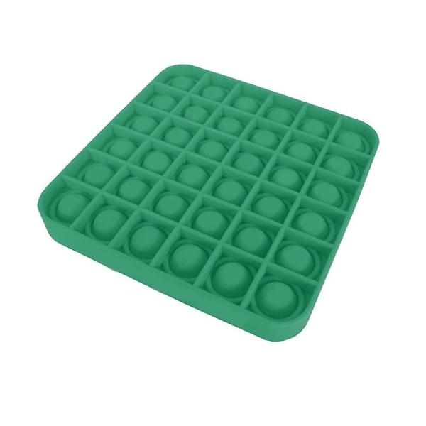 Pop it Fidget Sensory Leksak - Fyrkant - Grön (2 Pack) Fyrkant Grön (2 Pack)