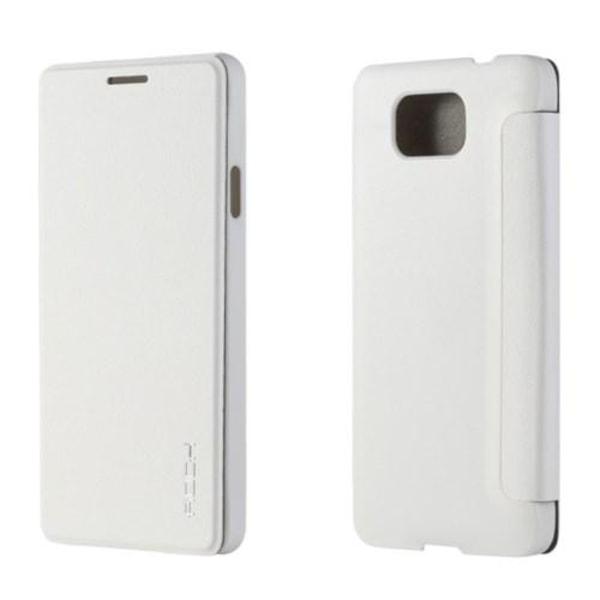 ROCK Uni Series fodral Samsung Galaxy Alpha (Vit)