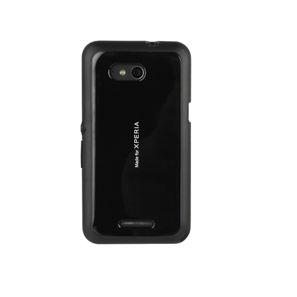 Roxfit Gel Shell Skal till Sony Xperia E4g - Svart