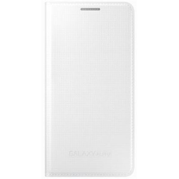Samsung Flipcover till Samsung Galaxy Alpha - Vit