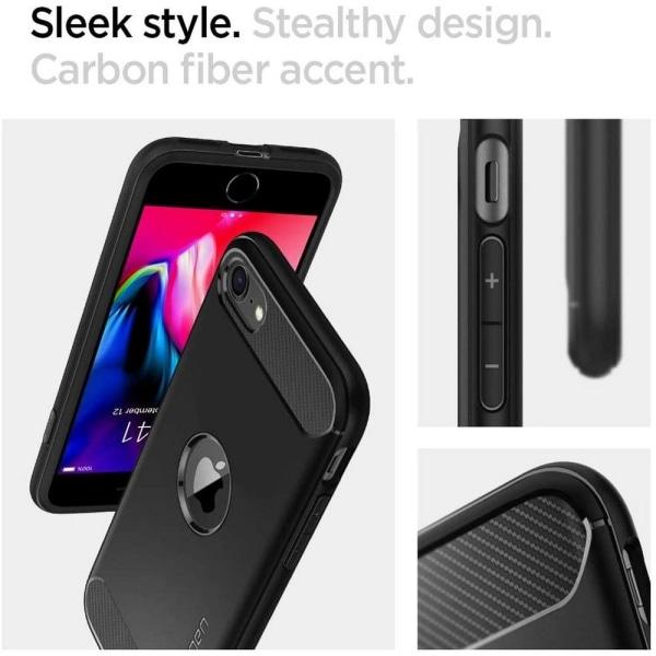 Spigen Rugged Armor iPhone 7/8/SE 2020 Black