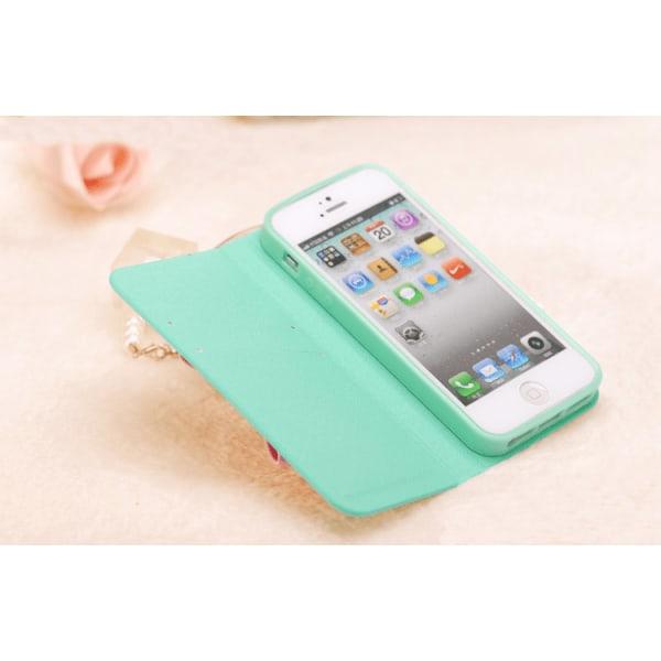Sweet Hybrid Bow Plånboksfodral till Apple iPhone 4S   /   4 (Ma