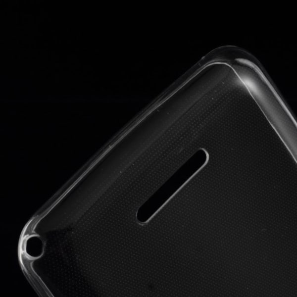 Ultra-Thin 0.6mm Flexicase Skal till Sony Xperia E4g - Transpare