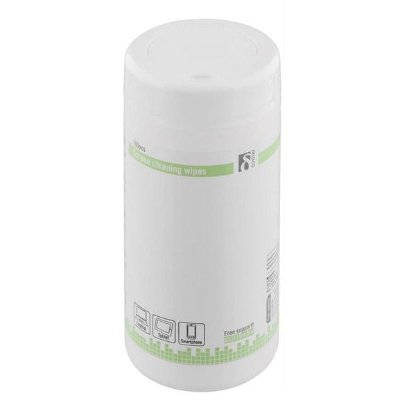 Våtservetter för rengöring av bildskärmar - 100 st
