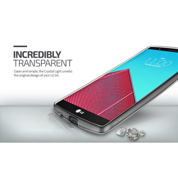 Verus Crystal Light Skal till LG G4 (Clear)