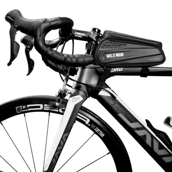"Wildman Hardpouch Bike Mount ""L"" Svart"