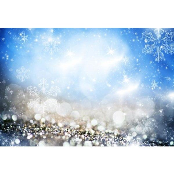Laeacco Fantasy Glitter Star Polka, Baby Foto Thin Cloth 250x180cmnbk14766