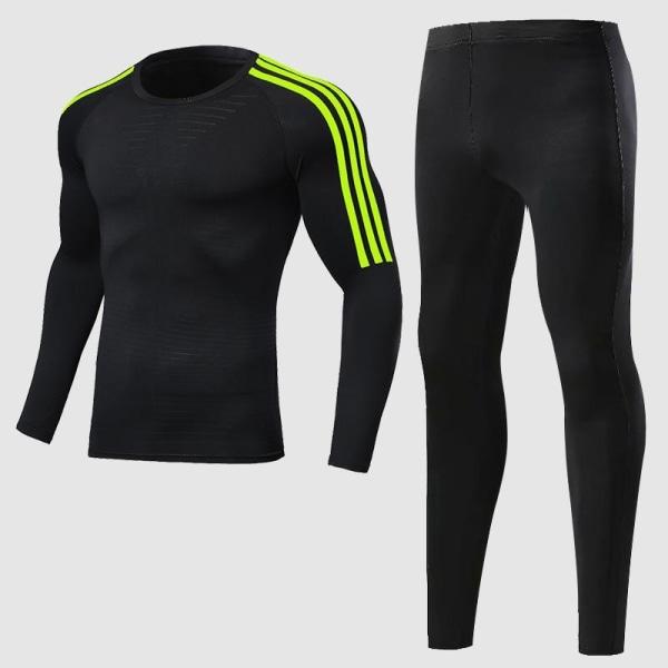 Herrträningsdräkt för män, gym / jogging / löpande tighta XXL265-1006