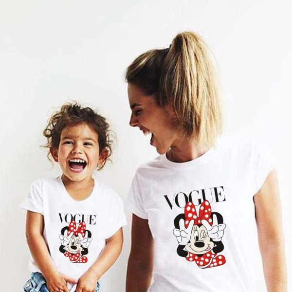 Mamma dotter matchar söta tshirts Kids Tshirt-8-10T