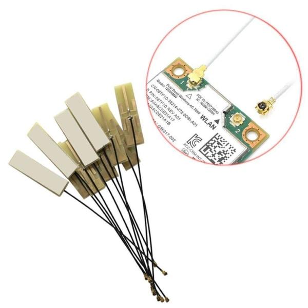 Mini pci-e wifi intern antenn-hög förstärkning riktad