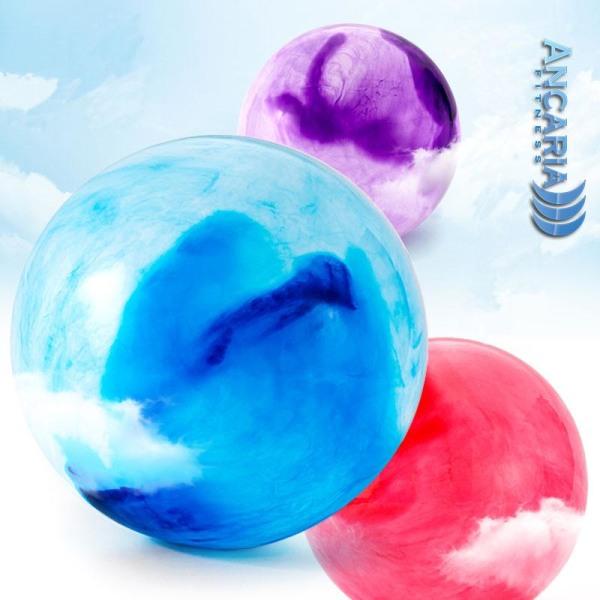 Yogaboll 75cm multifärg