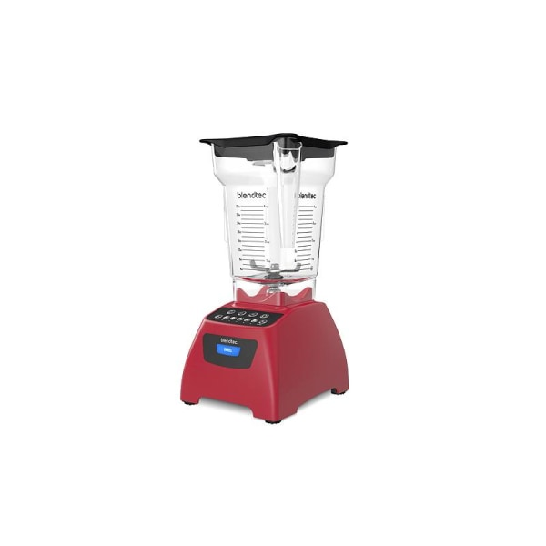 Blendtec Blender Röd Classic 575, Poppy Red Transparent