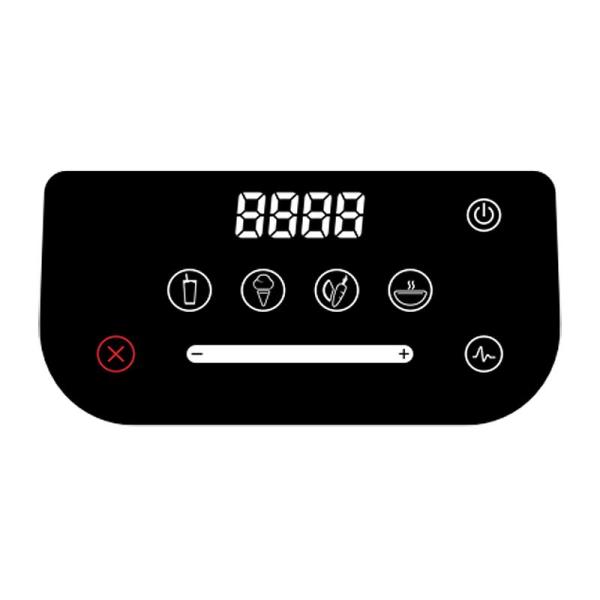 Blendtec Blender Svart Designer 625, Black Transparent