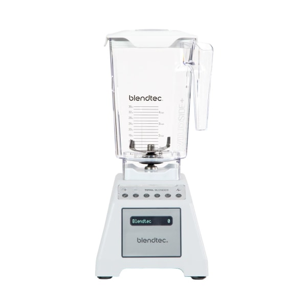 Blendtec Blender Total Blender White, Vit Transparent