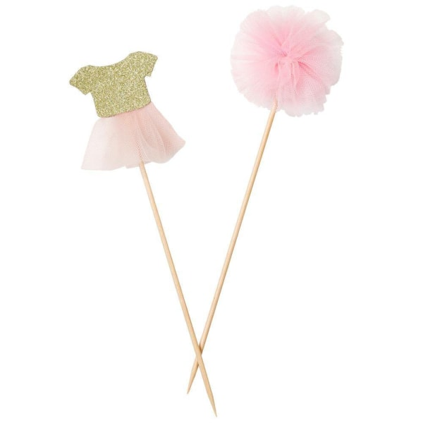 Cake Toppers - We Heart Pink Rosa