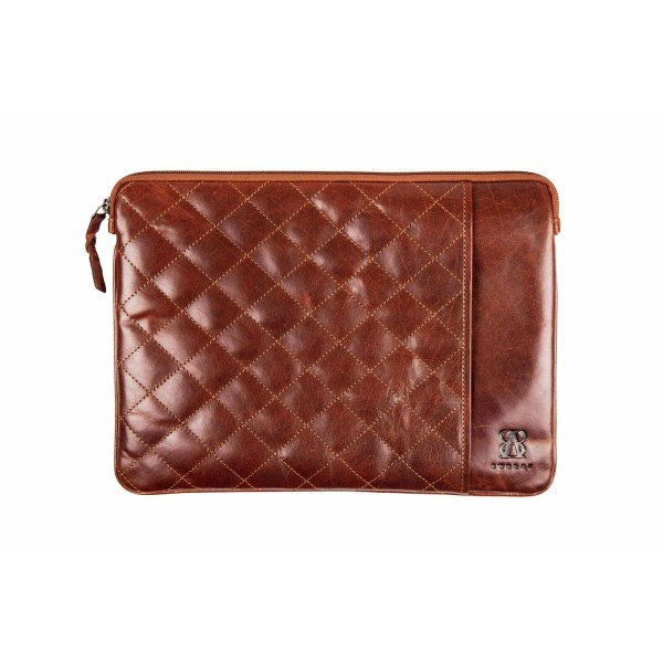 """Datorfodral quilted, 13"""" Baway Brun"""