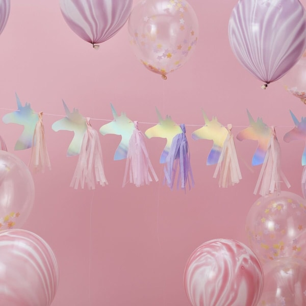 Girlang - Unicorns - Iridescent multifärg