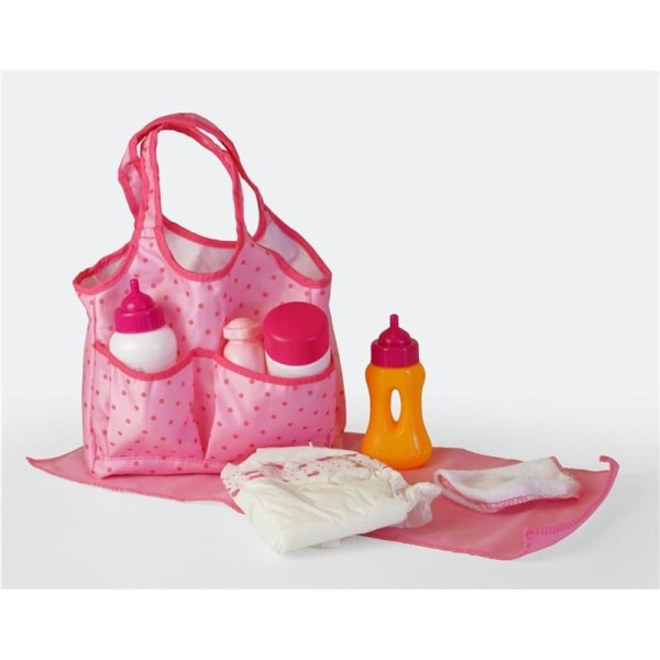 HF Diaper Bag with Doll Care- Dock Skötväska multifärg