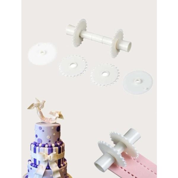 Kantverktyg Ribbon Cutter Tårtdekoration Skär Verktyg multifärg