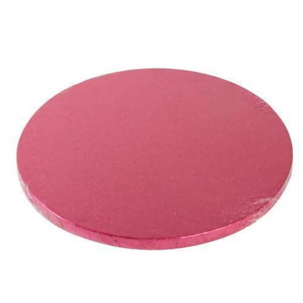 Tårtbricka Cerise Mörkrosa Rund 30.5 cm - FunCakes  Pink