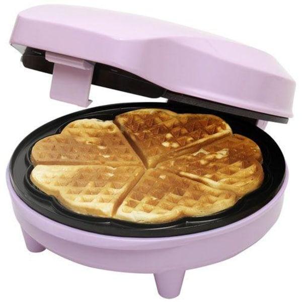 Våffeljärn Bestron Sweet Dreams Waffle Maker Rosa