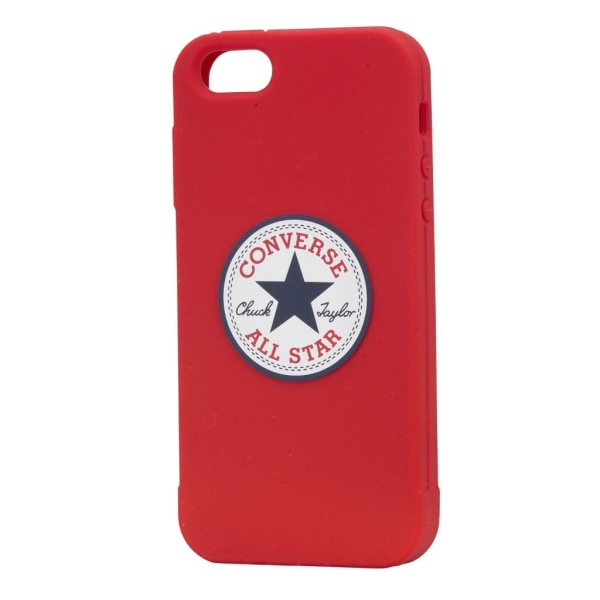 CONVERSE Skal Silikon iPhone 5/5s/SE Röd