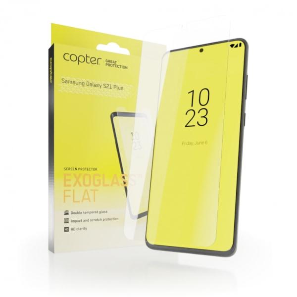 Copter Exoglass Skärmskydd för Samsung Galaxy S21 Plus 5G