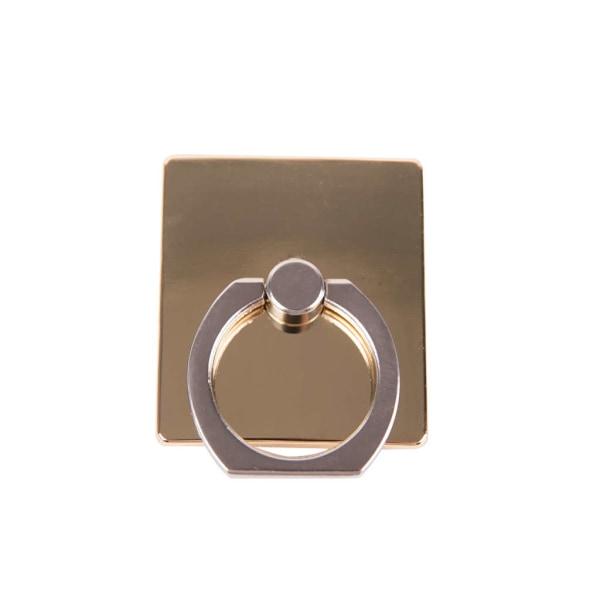 GEAR MobilRing   Guld Metal Shine Roterande Fingerhållare med St