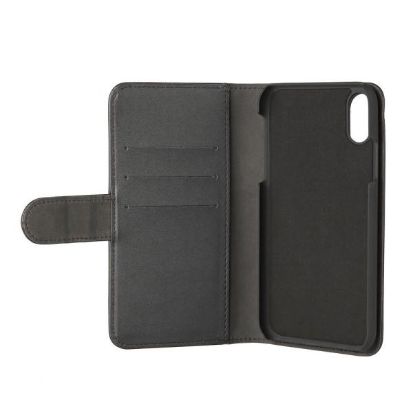 GEAR Plånboksväska Svart iPhone XR Magnetskal
