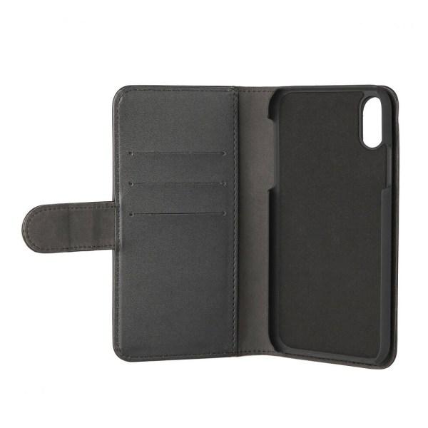 GEAR Plånboksväska Svart iPhone X 6,5 Magnetskal
