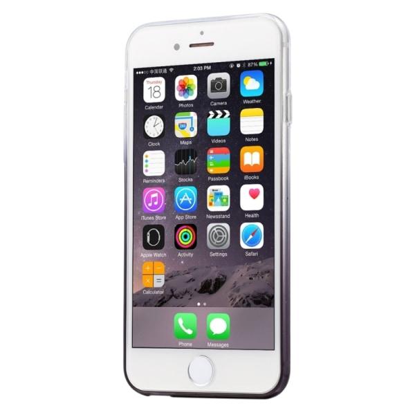 HAWEEL Ultratunt tonat TPU-skal Svart iPhone 6/6S