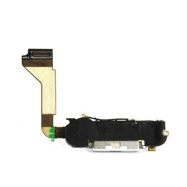 iPhone 4 Systemkontakt med mikrofon, högtalare och hemflexkabel