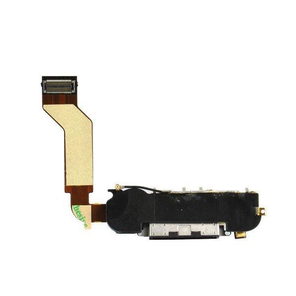 iPhone 4S Systemkontakt med mikrofon, högtalare och hemflexkabel