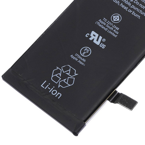 iPhone 6S Batteri med extra kapacitet (2121 mAh)