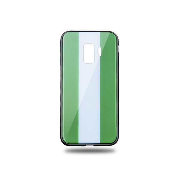 Snyggt Galaxy S9 mobilskal i Nigerias flagga