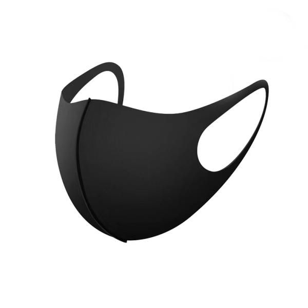 5-pack Tvättbar munskydd i Tyg i olika färger Svart