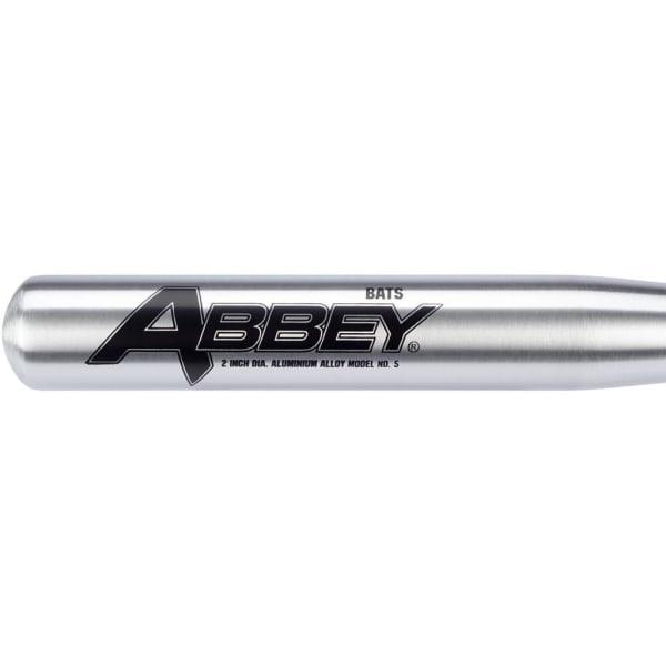 Abbey Basebollträ aluminium 65 cm Silver