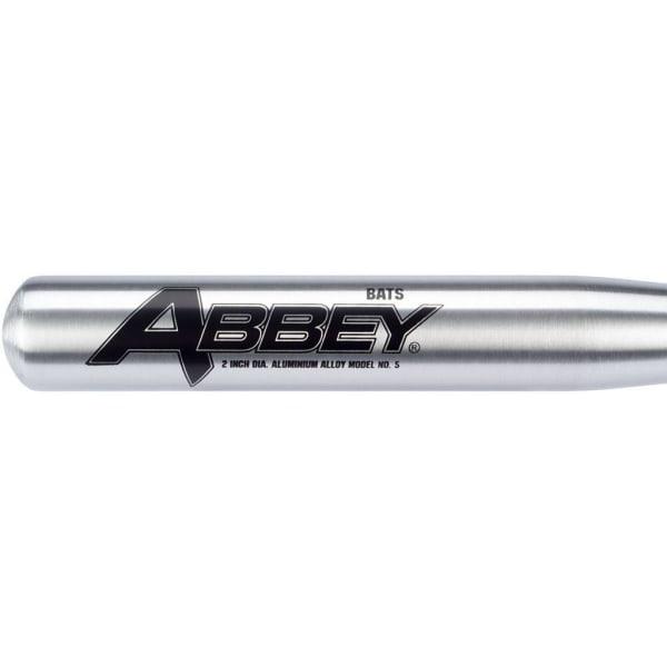 Abbey Basebollträ aluminium 75 cm Silver