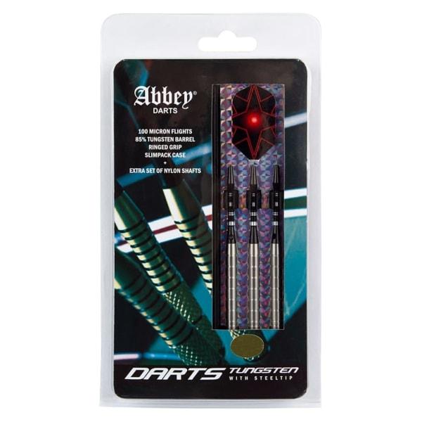 Abbey Darts Dartpilar 3 st 85% volfram 26 g silver Silver
